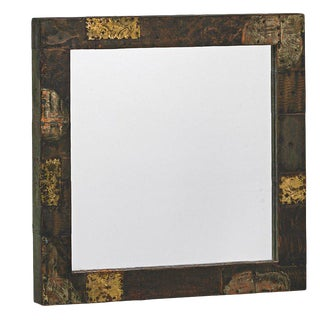 Paul Evans Patchwork Mirror for Directional For Sale