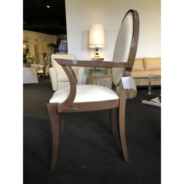 Modern Ultra Suede Ello Italian Chairs - Set of 6 For Sale In West Palm - Image 6 of 13