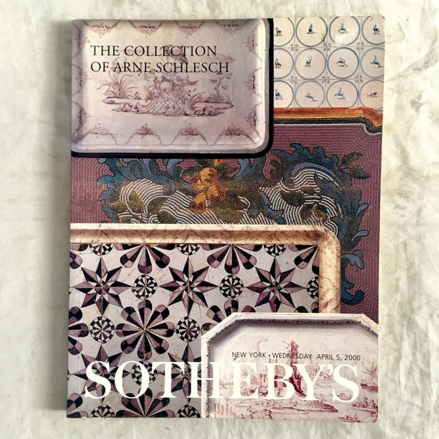 2000 Sotheby's Collection of Arne Schlesch Auction Catalog For Sale - Image 9 of 9