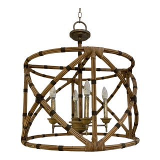 New Curry and Company Palm Beach Lantern For Sale