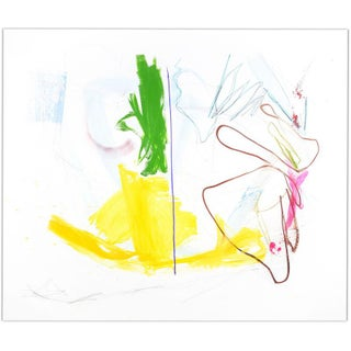 """Contemporary Abstract Painting """"Checkmate"""" by Joseph Conrad-Ferm For Sale"""