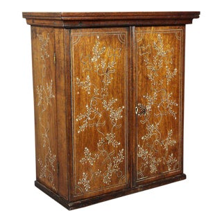 Anglo Indian Rosewood Cabinet For Sale
