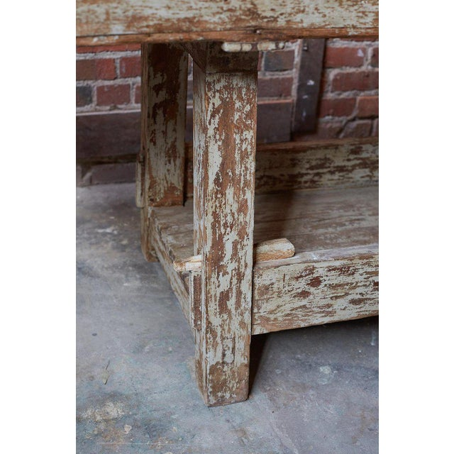 19th Century French Etabli Carpenter's Work Bench For Sale In San Francisco - Image 6 of 13