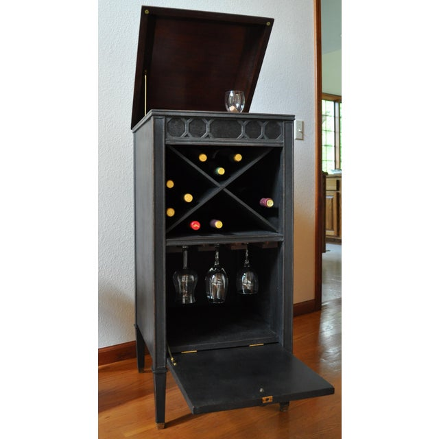 Antique Edison Phonograph Dry Bar For Sale - Image 9 of 13