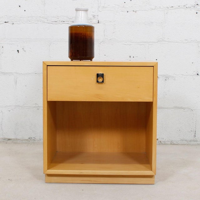 Jack Cartwright for Founders Blonde End Table For Sale - Image 9 of 10