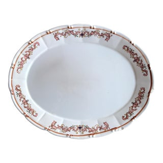 Vintage Decorative China Serving Platter