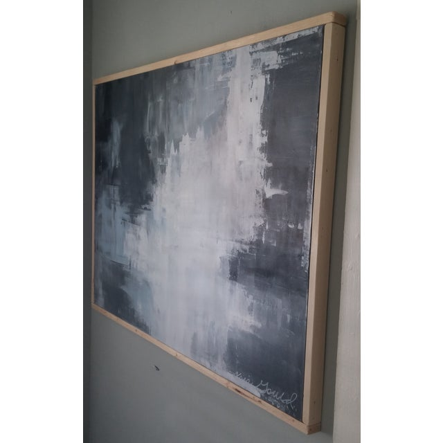 """Slate"" Framed Abstract Art by Kris Gould - Image 5 of 5"