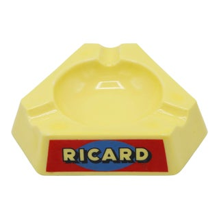 Vintage Ricard French Ashtray For Sale