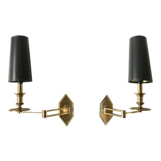 Vintage Signed Charles Sconces - A Pair For Sale