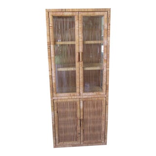 Wrapped & Woven Island Style Etagere For Sale