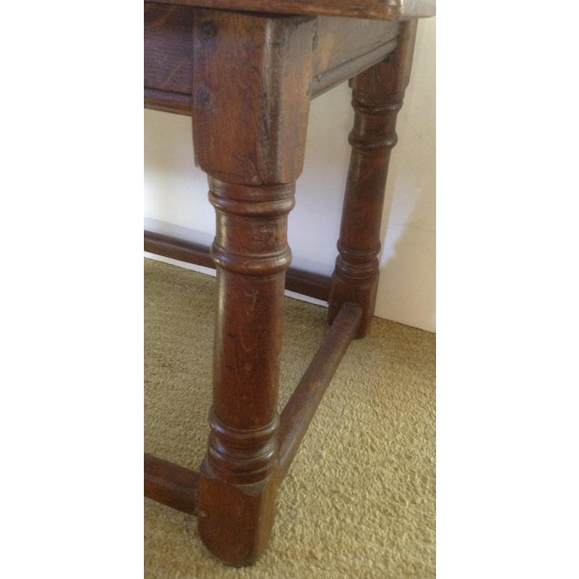 Wood 19th C. American Table / Bench For Sale - Image 7 of 7