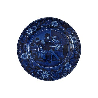 1820's Valentine Wall Plate For Sale
