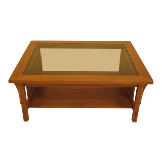 Stickley Mission Arts & Crafts Coffee Table For Sale