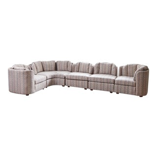 Mid-Century Henredon 5 Piece Sectional Sofa For Sale