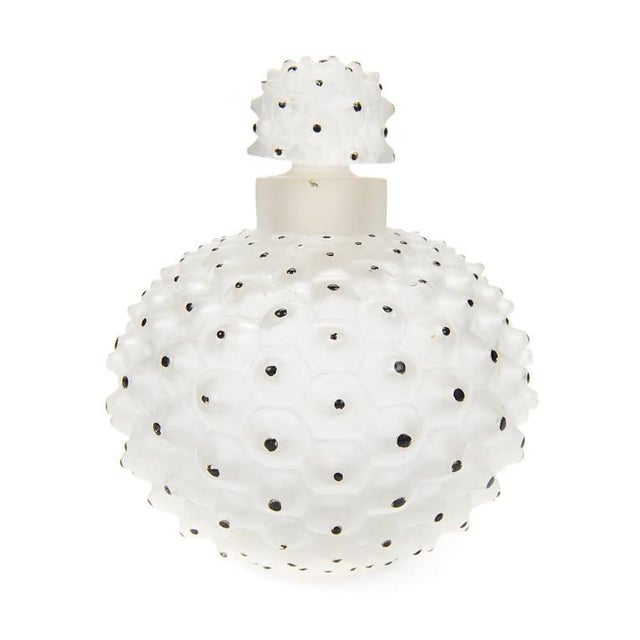 "Lalique ""Cactus"" Art Glass Perfume Bottle - Image 1 of 7"