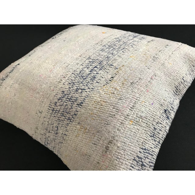 2010s Turkish Kilim Wool Handwoven Pillow Cover For Sale - Image 5 of 6