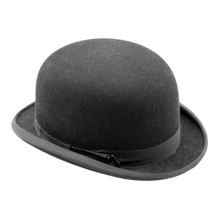 Tress & Co. Bowler Hat For Sale