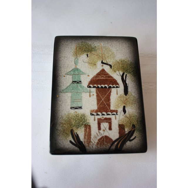 Vintage Sascha Brastoff Ceramic Box - Image 2 of 4