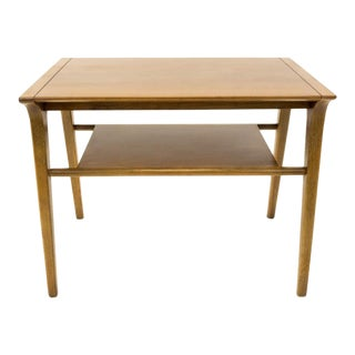 1940s Mid-Century Modern Drexel Profile Square End Table For Sale