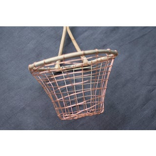 Copper Wire Wall Hanging Basket Preview