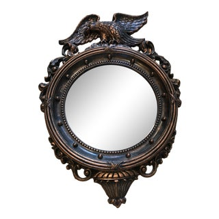 Vintage Molded Polymer Federal Style Mirror For Sale