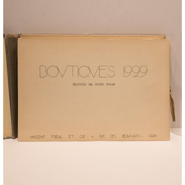 Art Deco Boutiques 1929, Paris For Sale - Image 3 of 9