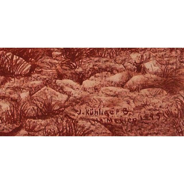 """Illustration of Mayan Ruins, """"Habitat Maya No.4"""" - Image 4 of 5"""