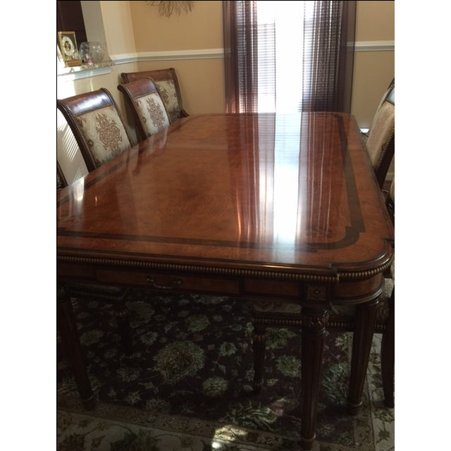 Transitional Style Dining Set - Image 3 of 11