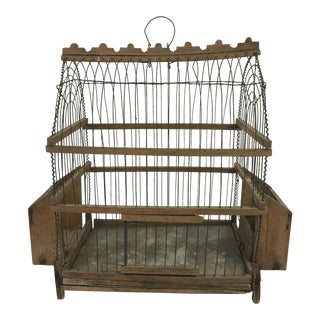 French Wire Birdcage