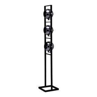 Italian Floor Lamp in the Style of Angelo Lelli For Sale