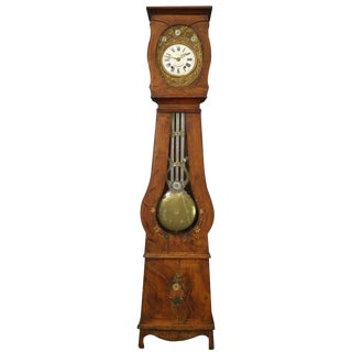 Grandfather Clock French Country a Lucas St For Sale