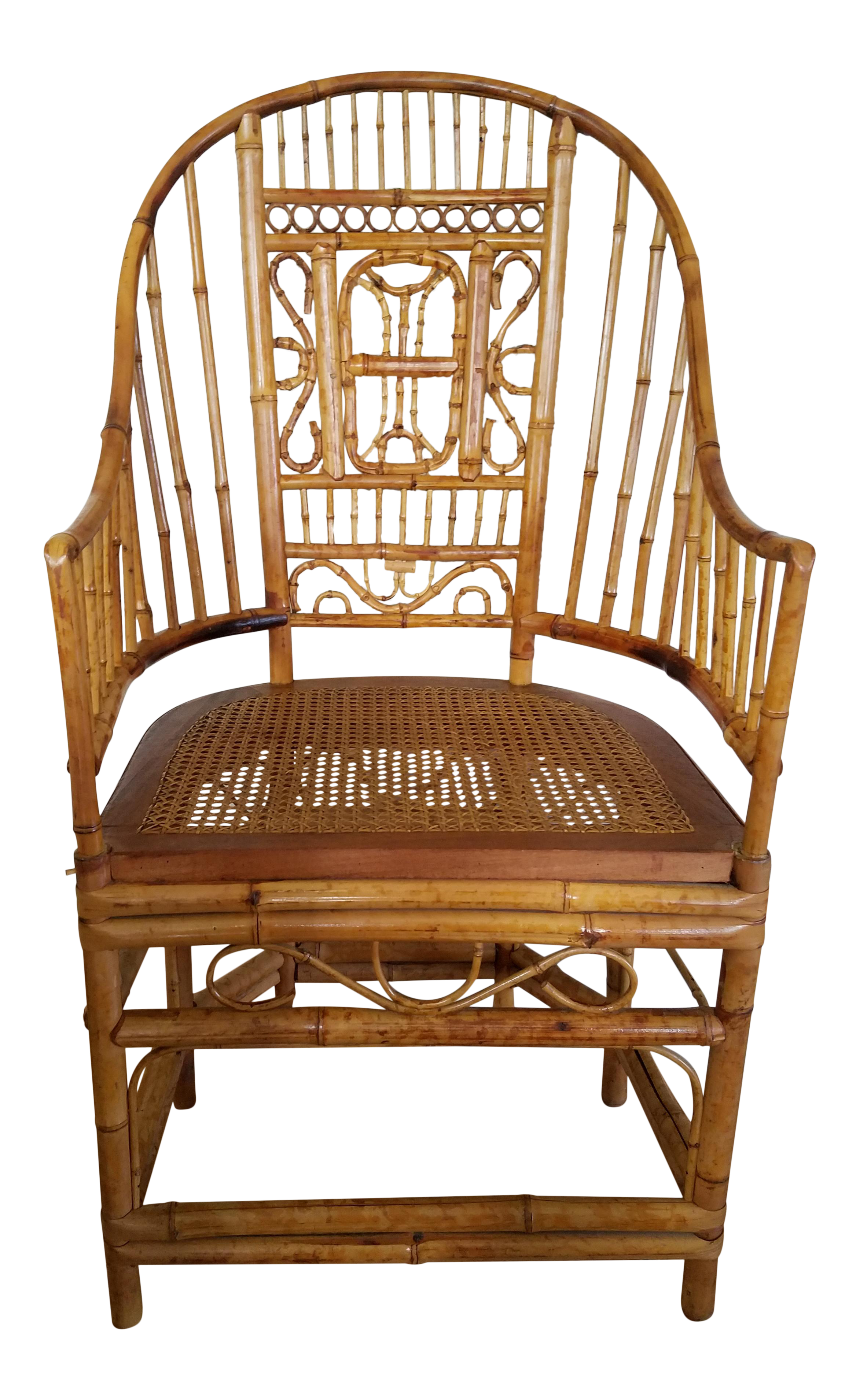 Thomasville Bamboo Chinoiserie Armchair   Image 1 Of 6