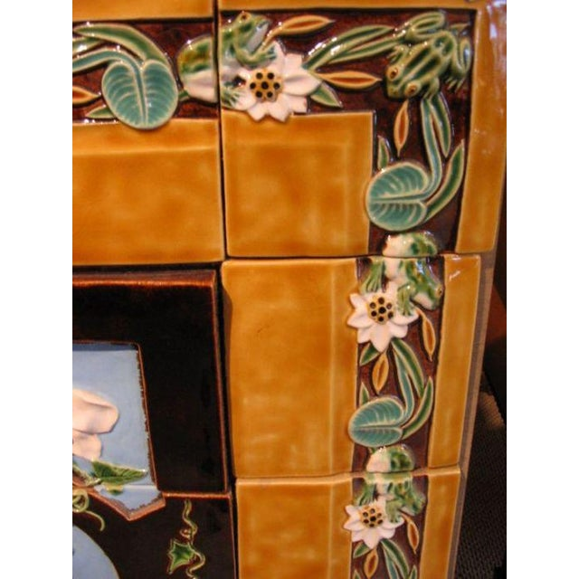 Traditional Mid 18th Century Majolica Tile Panel For Sale - Image 3 of 4