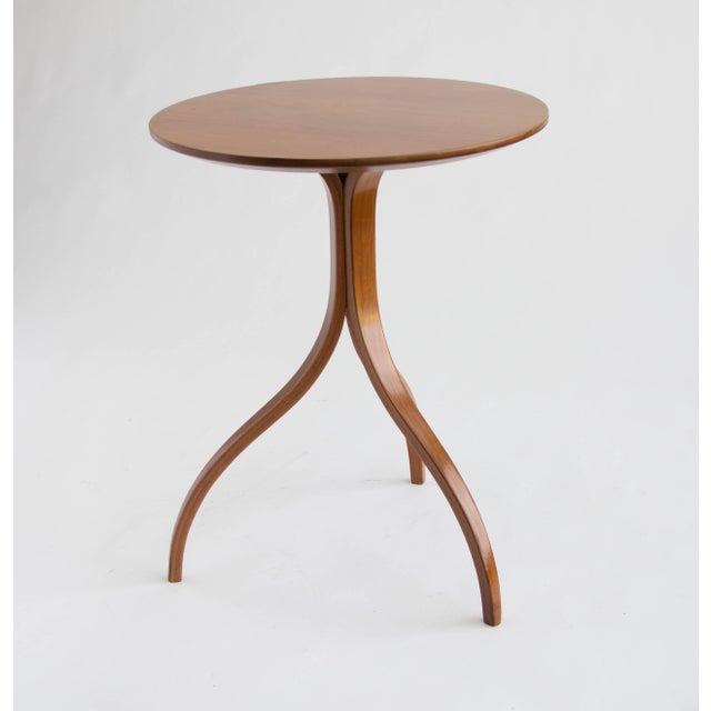 Spider Leg Walnut Side Table - Image 2 of 8