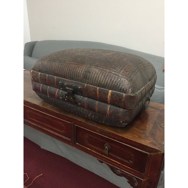 Mid 19th Century Antique Storage Basket For Sale - Image 12 of 12