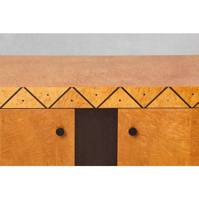 Pace 'Boca' Collection Memphis Style Inspired Lacquered Credenza For Sale In New York - Image 6 of 9