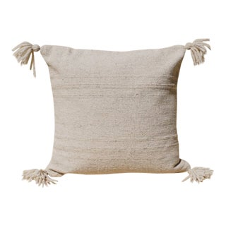 Puro Cream Wool Pillow Cover For Sale