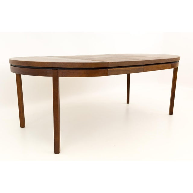 Mid Century Modern Milo Baughman for Dillingham Esprit Round Dining Table For Sale - Image 13 of 13