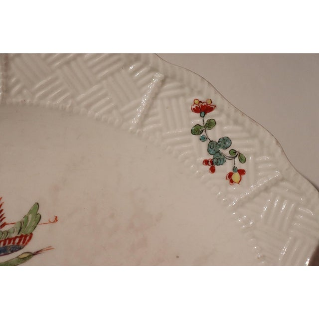 18th Century Porcelain Plate Signed Meissen With Kakiemon Decoration, 1740s For Sale - Image 6 of 13