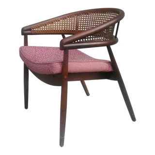 "1960s James Mont ""King Cole"" Lounge Arm Chair"