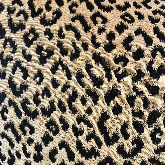 Leopard Print Silk 18x24 Pillows A Pair Chairish