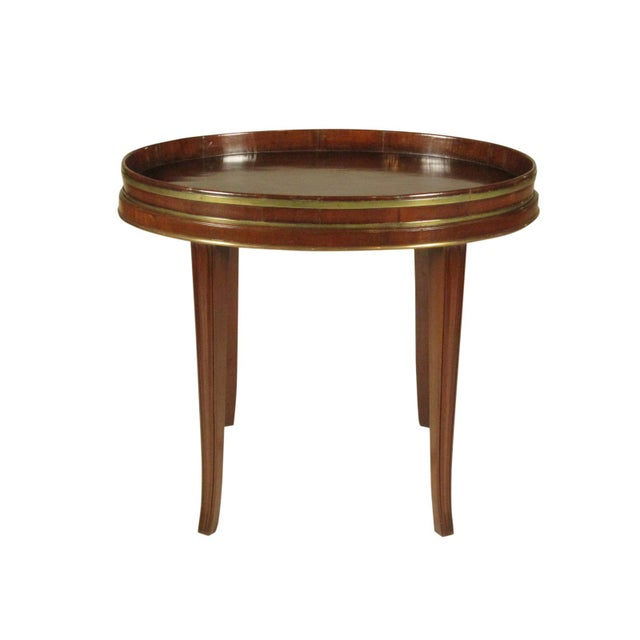 18th-C Mahogany Butler's Tray on Stand For Sale - Image 11 of 11