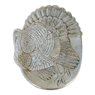 Vintage San Francisco Cast Aluminum Turkey Platter For Sale