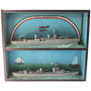u.s.s. Indianapolis Ship Diorama For Sale