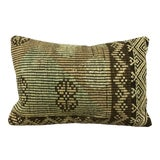 Image of Vintage Turkish Hand Woven Kilim Pillow For Sale