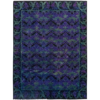 """Deauville, Arts & Crafts Area Rug - 7' 9"""" X 9' 10"""" For Sale"""