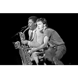 Original Giclee Photograph of Bruce Springsteen & Clarence Clemons For Sale