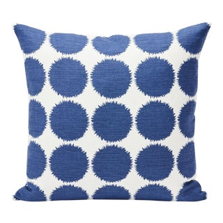 Schumacher Double-Sided Pillow in Fuzz Print For Sale
