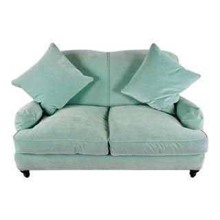 Williams Sonoma Home Velvet Upholstered Sofa