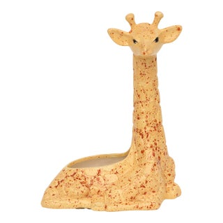 Speckled Giraffe Planter For Sale
